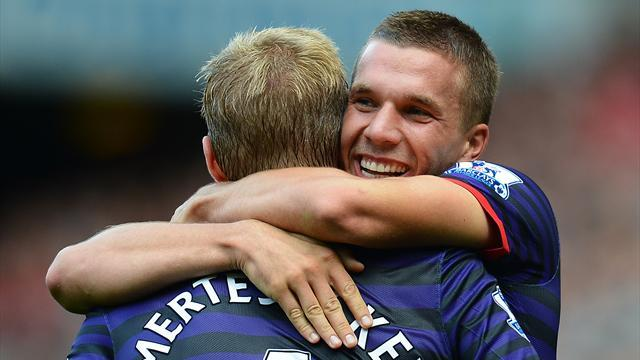Premier League - Match facts: Aston Villa v Arsenal