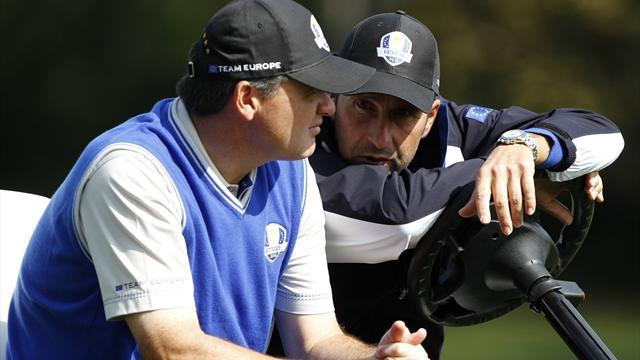 Olazabal lets Europe take it easy