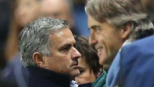 Premier League - Mancini ignores Mourinho comments