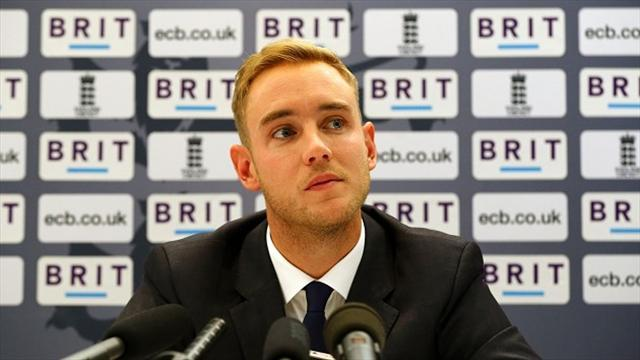Cricket - Broad rues England's late bowling efforts in Antigua