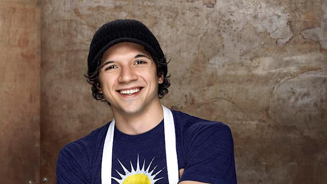 """Tony Carbone, a server from Boston, MA, is one of the top 14 finalists on """"MasterChef."""""""