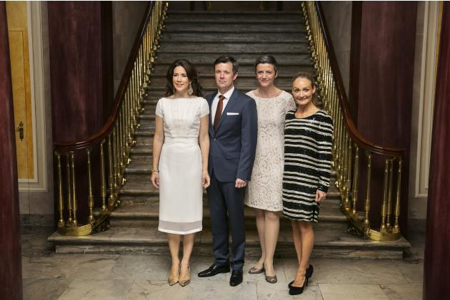 Copenhagen Fashion Summit 2014 Dinner with Royal Couple