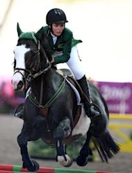 Dalma Rushdi Malhas of Saudi Arabia rcompetes in the 2010 Youth Olympic Games in Singapore. Dalma Malhas is likely to be the country's only female athlete to qualify for this summer's Games in London which get underway on July 27