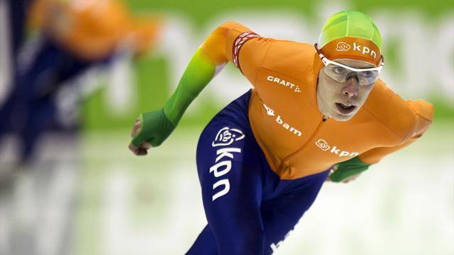 Speed Skating - Bergsma tops standings with win in Astana