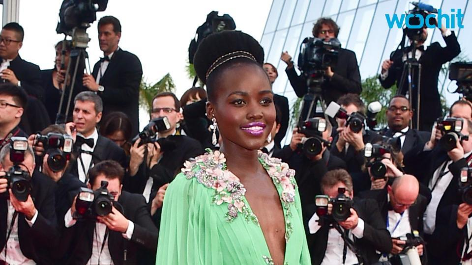 Lupita Nyong'o Does Signature Twirl on Magazine Cover