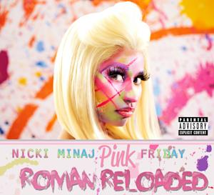 "In this CD cover image released by Cash Money/Universal Republic, the latest release by Nicki Minaj, ""Pink Friday: Roman Reloaded,"" is shown. (AP Photo/Cash Money/Universal Republic)"
