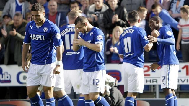 League Two - Chesterfield continue to set pace