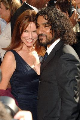 Barbara Hershey and Naveen Andrews 57th Annual Emmy Awards Arrivals - 9/18/2005