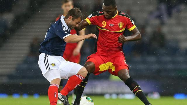 World Cup - Belgium name injured Benteke