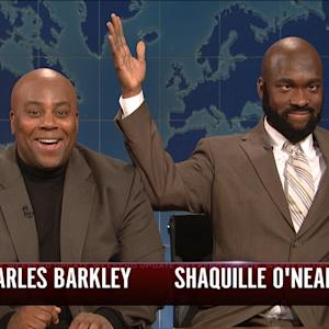 Weekend Update: Charles Barkley and Shaquille O'Neal
