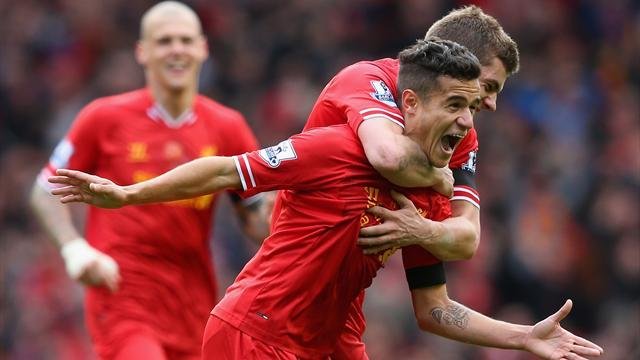 Premier League - Liverpool take huge step towards title in thrilling win over City