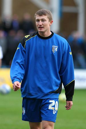 Callum Davies, pictured, has impressed new Gillingham boss Martin Allen