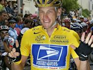 "Lance Armstrong celebrates his sixth successive victory in the Tour de France, in Paris, on July 25, 2004. Seeking ""tens of millions"" paid to Lance Armstrong for ""years of broken promises"", the US government joined a lawsuit alleging the doping cyclist defrauded former sponsor US Postal Service"