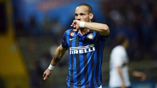 World Football - Galatasaray announce Sneijder coup