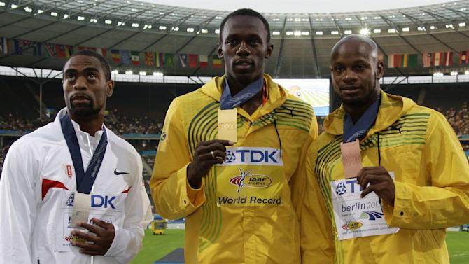 Athletics - Bolt chides doping officials over Tyson Gay ban