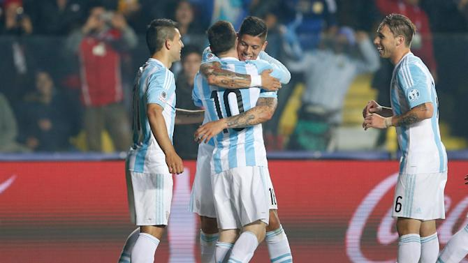 Argentina routs Paraguay 6-1, reaches Copa America final