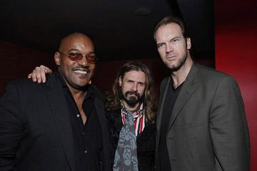 Ken Foree , director Rob Zombie and Tyler Mane at the Hollywood premiere of MGM/Dimension Films' Halloween