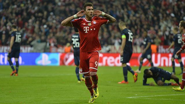Bundesliga - Mandzukic set to leave Bayern after Cup final snub