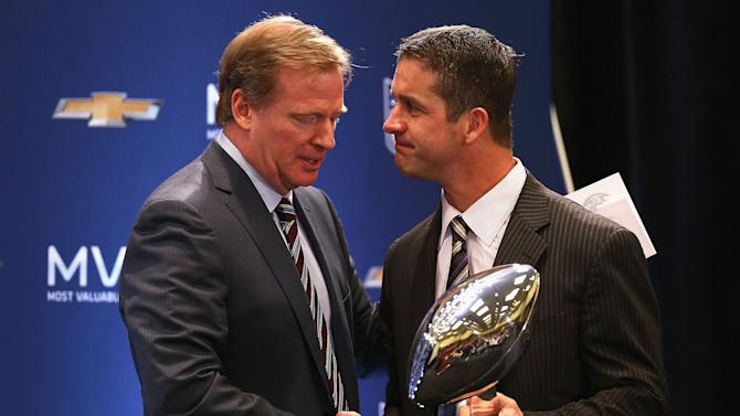 Super Bowl XLVII Team Winning Coach and MVP Press Conference