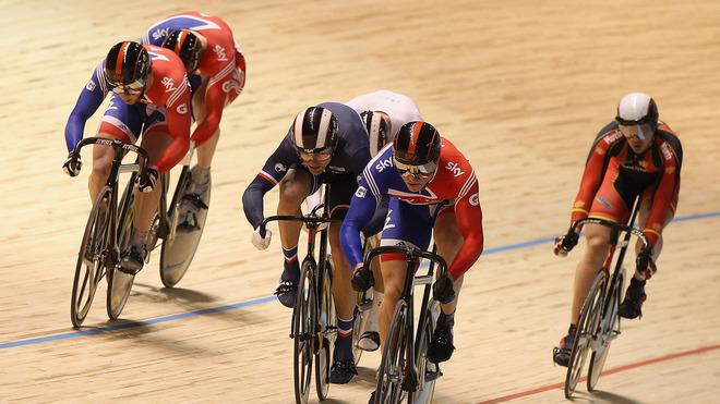 Chris Hoy Of Great Britain Leads Getty Images