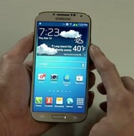 Samsung Unveils Bigger, Thinner Galaxy S4