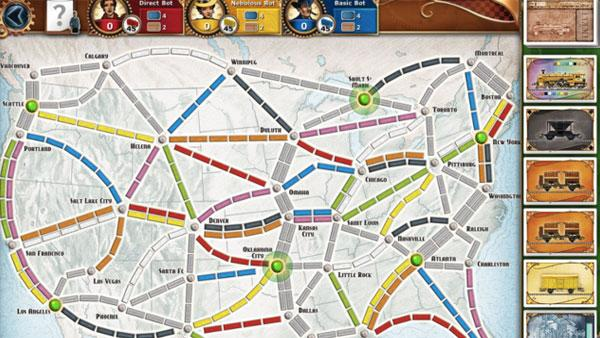 Ticket to Ride (iPad)