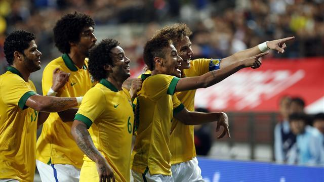 World Cup - South Africa v Brazil: LIVE