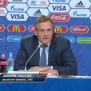 FOOTBALL: FIFA World Cup: Valcke hints he will step down