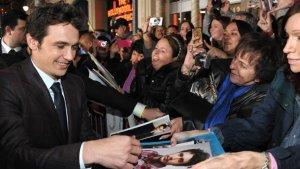 'Oz' Premiere: James Franco Rides in Hot Air Balloon, Michelle Williams Parties With Busy Phillips