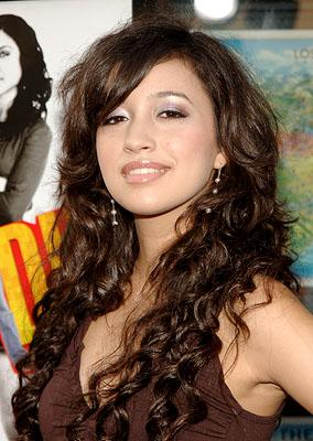 Christian Serratos at the LA premiere of 20th Century Fox's John Tucker Must Die