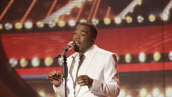 """American Idol"" Top 8 - Burnell Taylor"