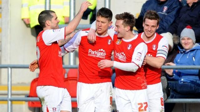 League One - Rotherham ace Revells in challenge