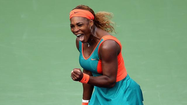 Tennis - Williams, Li set up enticing Miami showdown