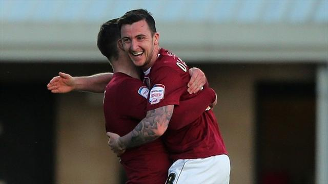 League Two - New deal for O'Donovan
