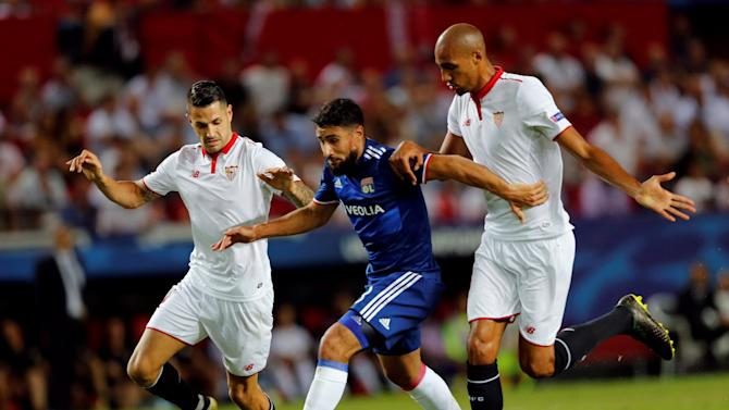 Sevilla FC v Olympique Lyonnais - UEFA Champions League group stage