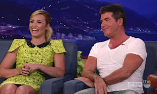 WATCH: X Factor USA's Demi Lovato Brands Simon Cowell An 'A******' On TV