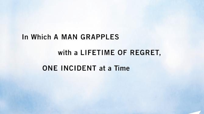 """This book cover image released by Grand Central Publishing shows """"Public Apology: In Which a Man Grapples With a Lifetime of Regret, One Incident at a Time."""" by Dave Bry. (AP Photo/Grand Central Publishing)"""
