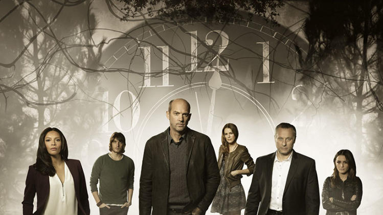 """Zero Hour"" -- CARMEN EJOGO, SCOTT MICHAEL FOSTER, ANTHONY EDWARDS, JACINDA BARRETT, MICHAEL NYQVIST, ADDISON TIMLIN"
