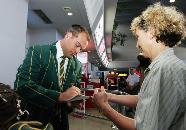 South African Cricket Team Arrival