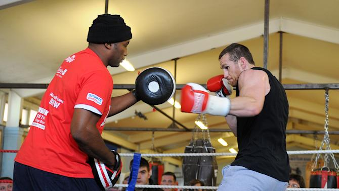 Boxing - David Price Media Workout - Sailsbury ABC