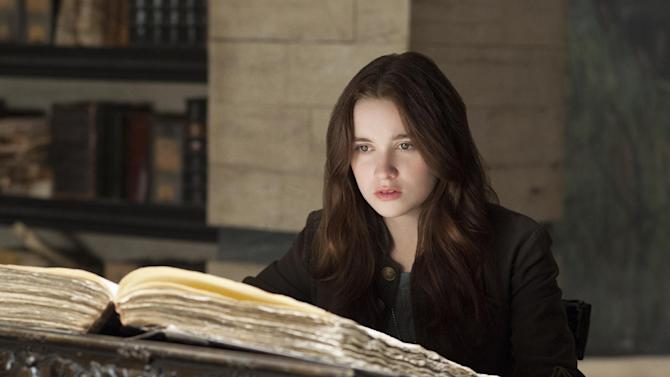 "This film image released by Warner Bros. Pictures shows Alice Englert in a scene from ""Beautiful Creatures."" (AP Photo/Warner Bros. Pictures, John Bramley)"