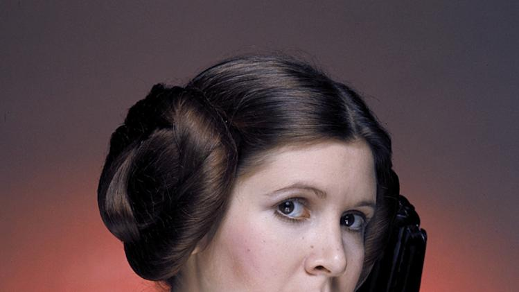STAR WARS, (aka STAR WARS: EPISODE IV - A NEW HOPE), Carrie Fisher, 1977, (c) 1977 Lucasfilm Lrd.