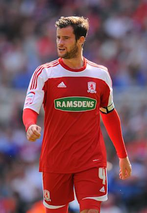Matthew Bates is one of five Middlesbrough players who saw their deals at the Riverside Stadium expire over the weekend