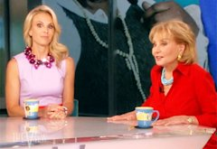 Elisabeth Hasselbeck and Barbara Walters | Photo Credits: ABC