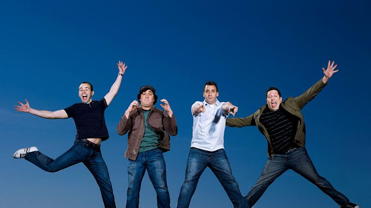 "The cast of ""Impractical Jokers."""