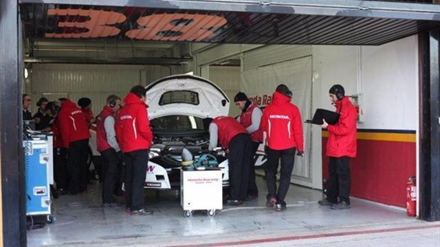 WTCC - Honda total 800km in three-day test