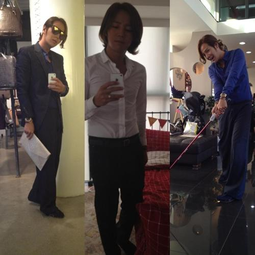 Jang Geun Suk reveals 'CEO Photos'