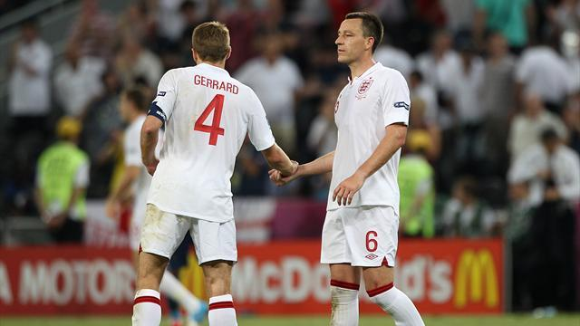 World Cup - Terry, Gerrard back in for England