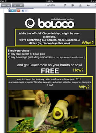 How to Create Mobile Friendly Emails that Inspire Action image Boloco1 434x600