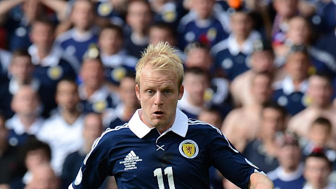 Scotland's Steven Naismith has been banned for two matches